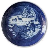 The Forest in Winter 2002, Royal Copenhagen Christmas plate