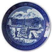 Christmas Train 2004, Royal Copenhagen Christmas plate