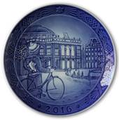 Ice skating in Copenhagen 2016, Royal Copenhagen Christmas plate