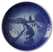 By the lakes 2017, Royal Copenhagen Christmas plate
