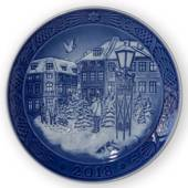 Christmas Tree Market, 2018 Royal Copenhagen Christmas plate