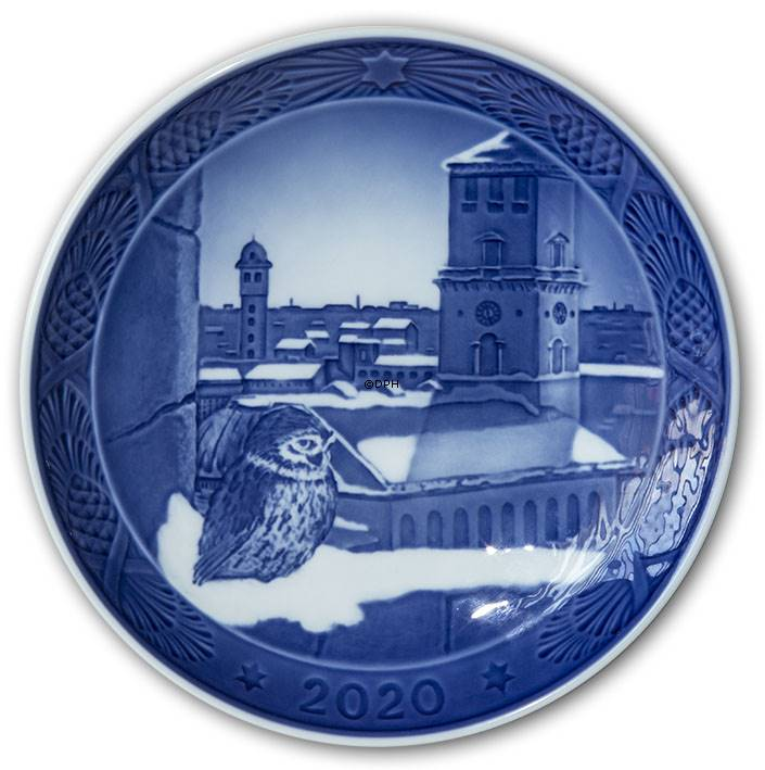 The Cathedral of Copenhagen, 2020 Royal Copenhagen Christmas plate