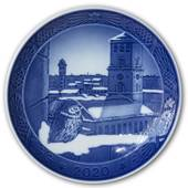 The Cathedral of Copenhagen, 2020 Royal Copenhagen Christmas plate