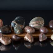 Stone, 1 pcs. - Decorative polished and washed stone 8-17 cm