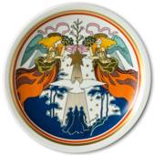 1978 Arzberg Christmas Plate The Three Magi are led by the Star over Bethle...