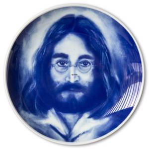 Commemorative Plate of John Lennon 1940-1980 by John Heine | No. S1104 | DPH Trading