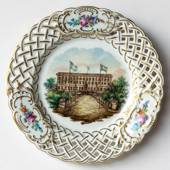 Swedish Castles Cake Plate No. 2 Stockholm Castle