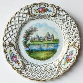 Swedish Castles Cake Plate No. 5 Kalmar Castle
