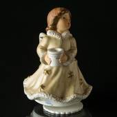 Goebel Hummel Music Box with Angel