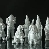White Christmas figurines - Large size - Ask for more info.