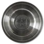Scandia Pewter Sofiero Castle plate