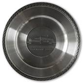 Scandia Pewter Castle Stockholm Castle plate