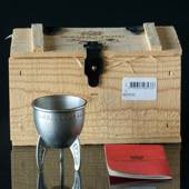 Scandia Pewter Mead Cup in Wooden Box