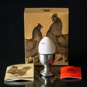 1979 Scandia Pewter Egg Cup, Silver Hamburgare