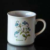 Swedish Landscape Flower Mug Dalsland Forget-me-not