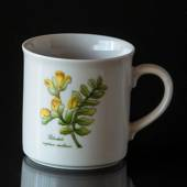 Swedish Landscape Flower Mug Västerbotten Pedicularis Sceptrum-carolinum