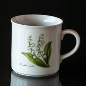 Swedish Landscape Flower Mug Gästrikland Lily-of-the-Valley