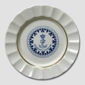 1961 The Navy's Christmas plate, Royal Copenhagen
