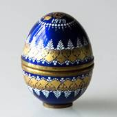 1979 Steinböck Annual egg, blue