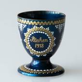 1978 Steinböck Easter egg cup, Dark Blue
