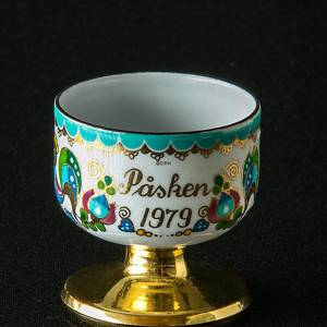 1979 Steinböck Easter egg cup, turquoise