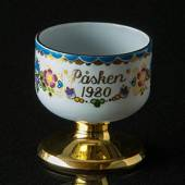 1980 Steinböck Easter egg cup, blue