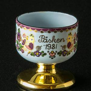 1981 Steinböck Easter egg cup, purple