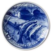 1982 Stockbild Sports Fisherman plate