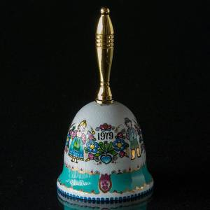 1979 Steinböck Annual Bell, turquoise | Year 1979 | No. SSK1979 | DPH Trading