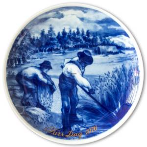 1976 Tettau father's day plate