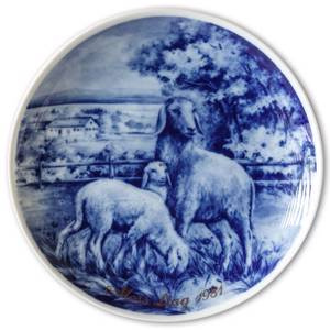 1981 Tettau mothers day plate | Year 1981 | No. TM1981 | DPH Trading