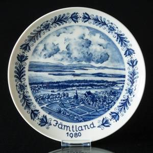 1980 Seltmann Swedish Landscape Plate Jämtland | Year 1980 | No. TO1980 | DPH Trading
