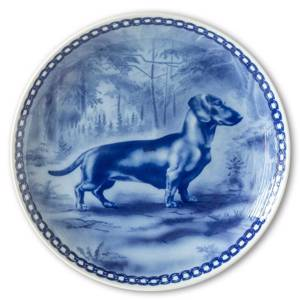 Tove Svendsen Dog plate, Smooth haired Dachshund | No. TS-HUND-10 | DPH Trading