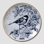 Tove Svendsen, Bird plate Great Tit 1975