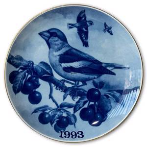 1993 Tove Svendsen Bird plate, Hawfinch | Year 1993 | No. TSF1993 | DPH Trading