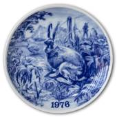 1976 Tove Svendsen, Hunting plate, Hare