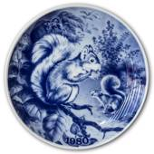 1980 Tove Svendsen, Hunting plate, Squirrel