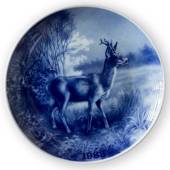 1983 Tove Svendsen, Hunting plate, animal