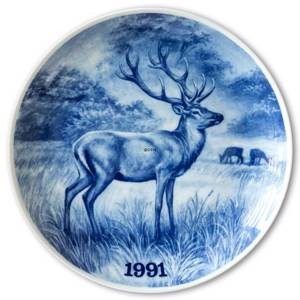 1991 Tove Svendsen, Hunting plate, Red deer | Year 1991 | No. TSJD1991 | DPH Trading