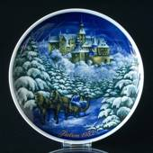 1982 Tettau traditional Christmas plate