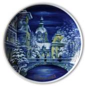 1985 Tettau traditional Christmas plate