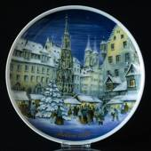 1988 Tettau traditional Christmas plate