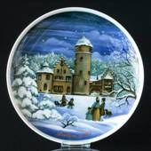 1989 Tettau traditional Christmas plate