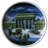 1990 Tettau traditional Christmas plate