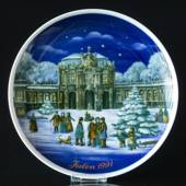 1991 Tettau traditional Christmas plate