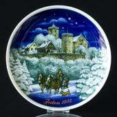 1992 Tettau traditional Christmas plate