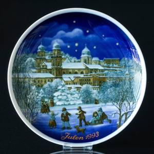 1993 Tettau traditional Christmas plate | Year 1993 | No. TX1993 | DPH Trading