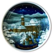 1995 Tettau traditional Christmas plate with Gernan text (Weihnachten)