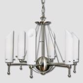 """DPH4"" 6-arm Chandelier in Steel"