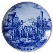 Berlin Design father's day plate 1972 (English Text)